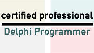 Certified Delphi Programmer