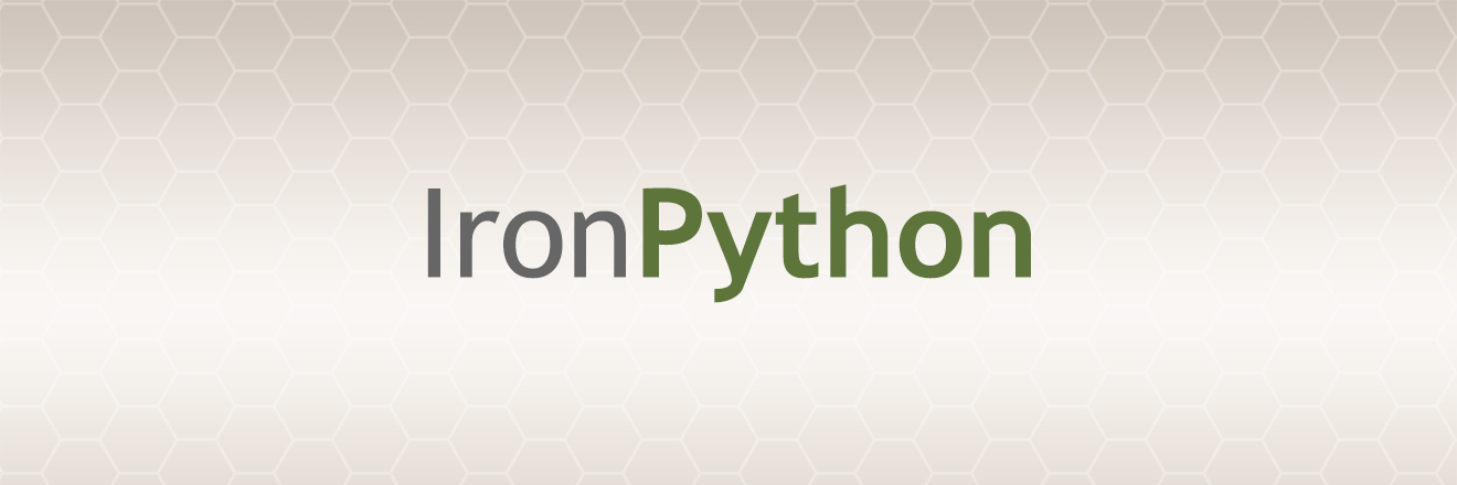 IronPython revisited