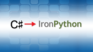 Porting C# to IronPython — Example 1