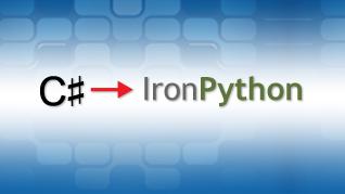 Porting C# to IronPython — Example 1