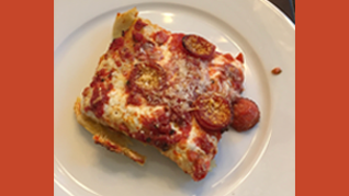 �Homemade Sicilian Pizza