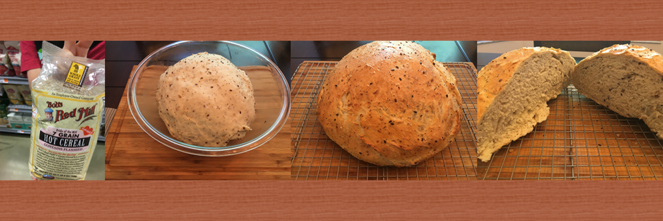 🍞 5 seed, 7 grain bread