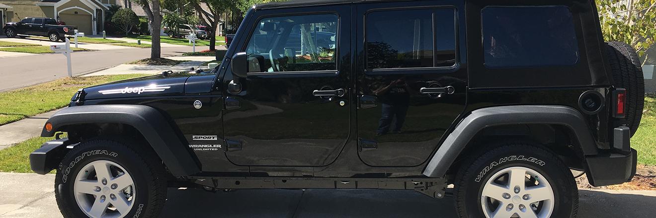 Goodbye Jeep Grand Cherokee, Hello Jeep Wrangler