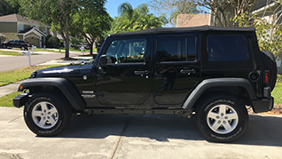 Goodbye Jeep Grand Cherokee, Hello Jeep Wrangler