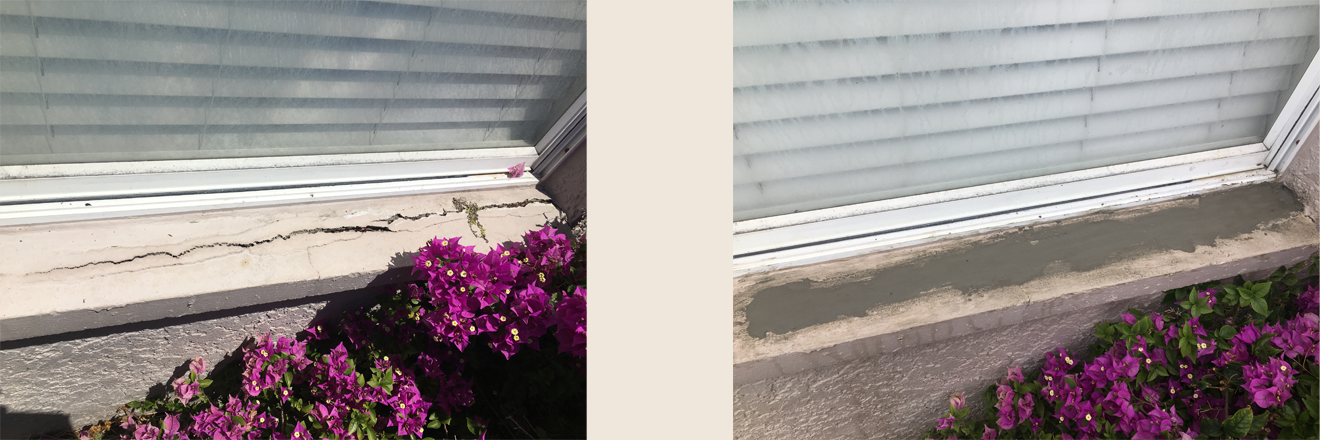 Window sill repair